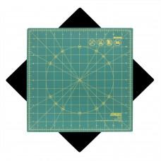 "Olfa RM-12S 12"" Square Rotating Cutting Mat"