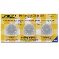 Olfa DB/ST Decorative Edge Blade Set
