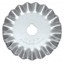 Olfa PIB45-1 Pinking Blade Stainless Steel 1pk