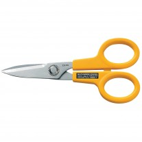 Olfa SCS-1 Scissors, Stainless Steel Serrated Edge 5""