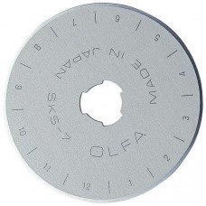 Olfa RB45-500 Rotary Blade 45mm, 500 Bulk Pack