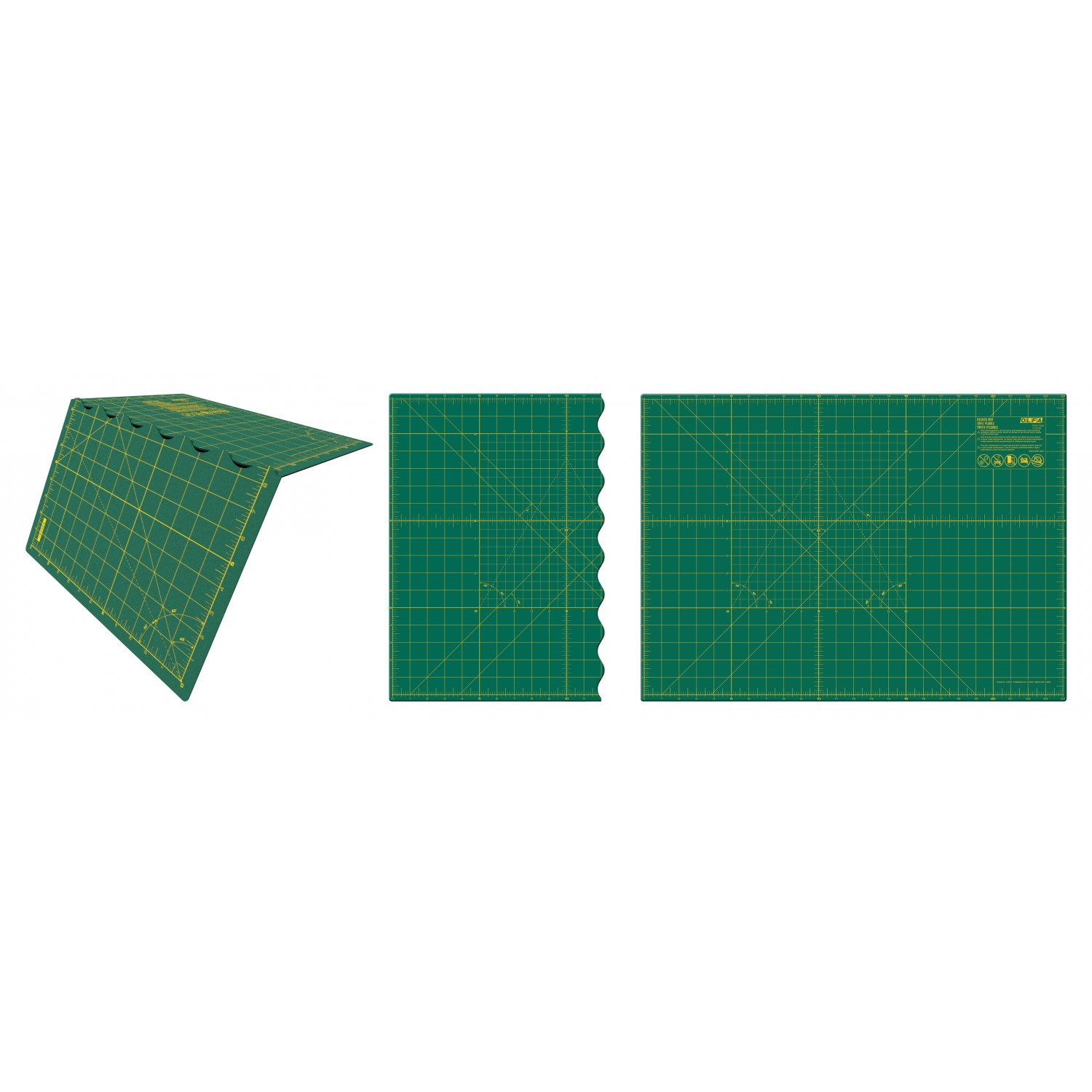 "Olfa 17""x24"" Folding Cutting Mat"
