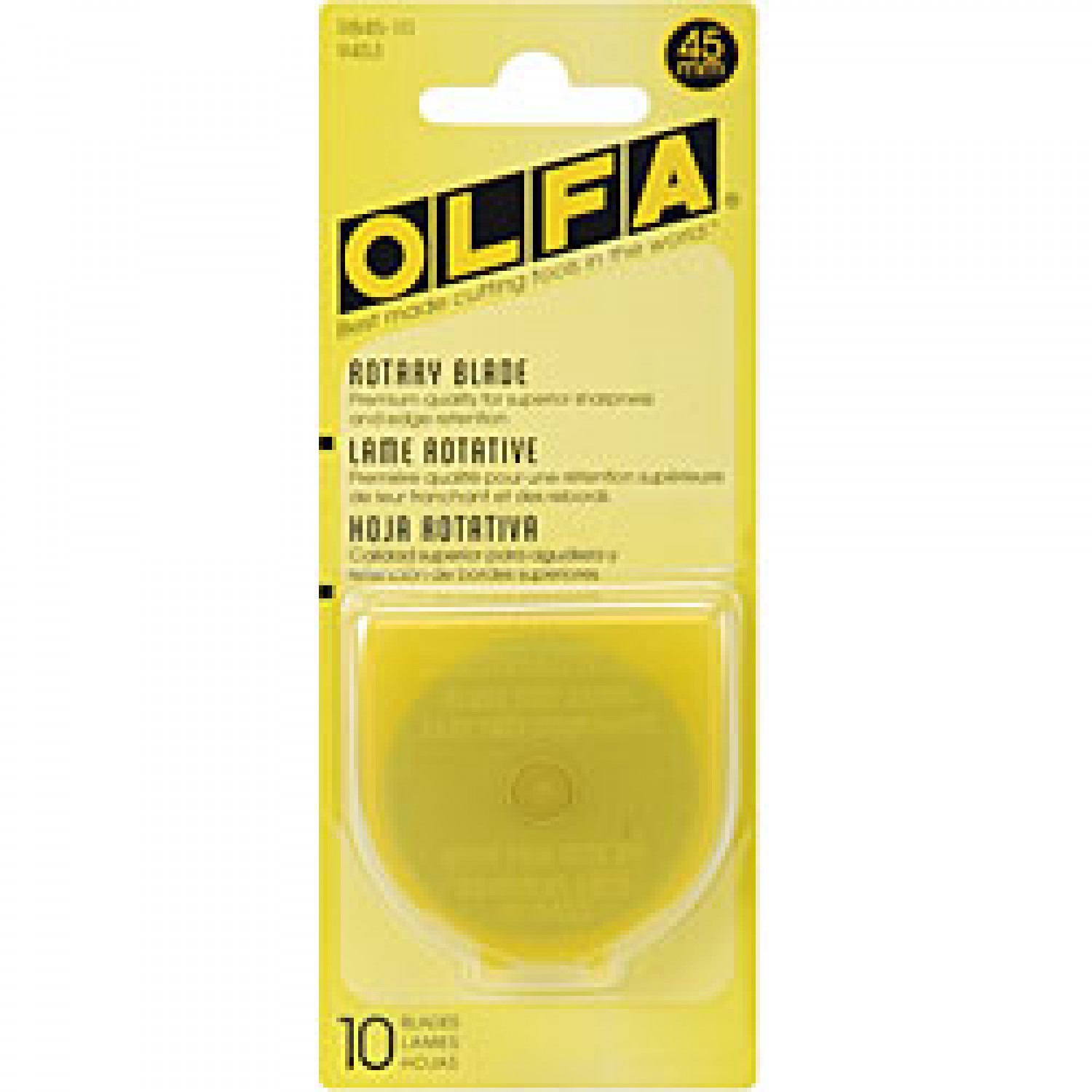 Olfa RB45-10 Rotary Blade 45mm, 10 Pack