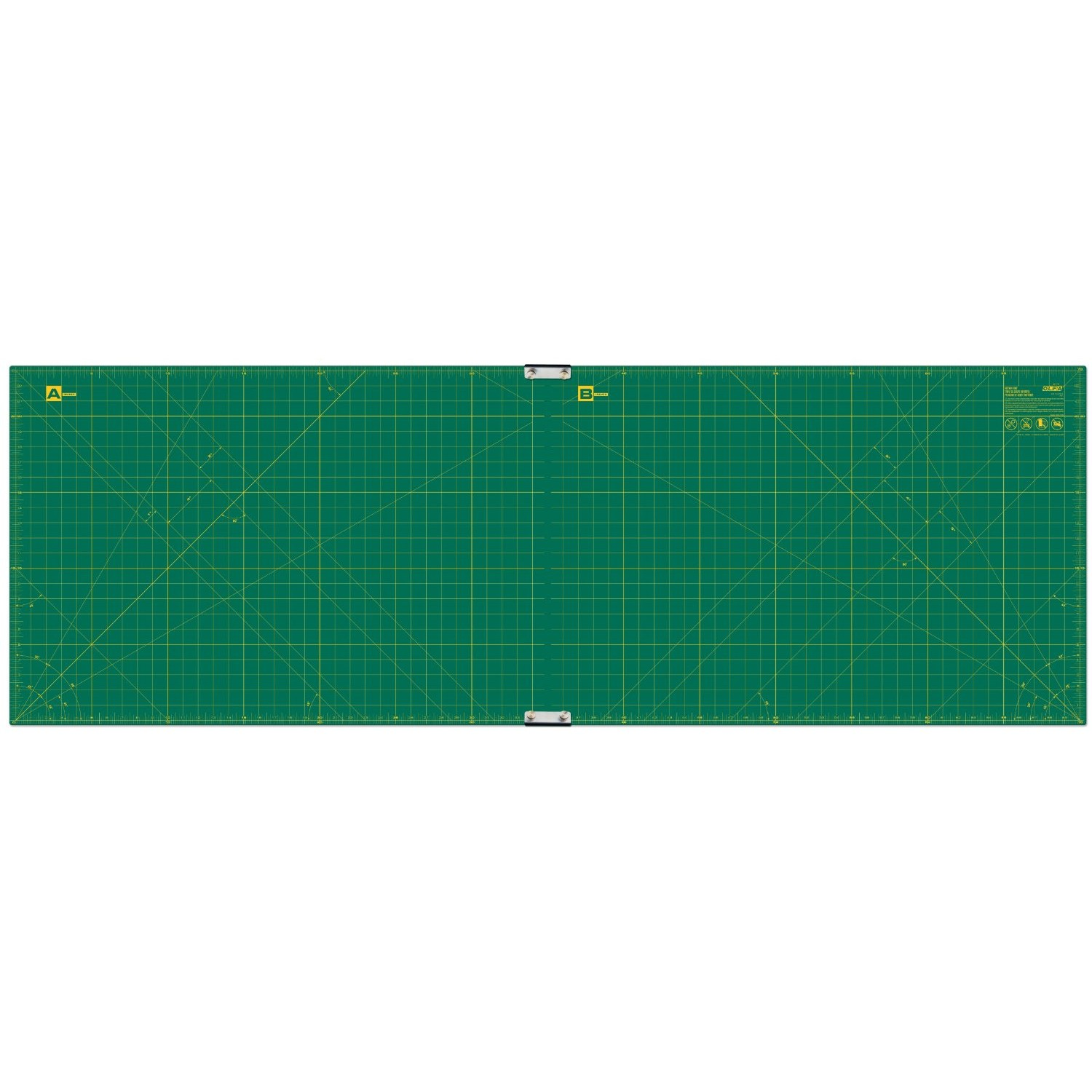 Olfa RM-CLIPS/2 Continuous Grid Cutting Mat Set