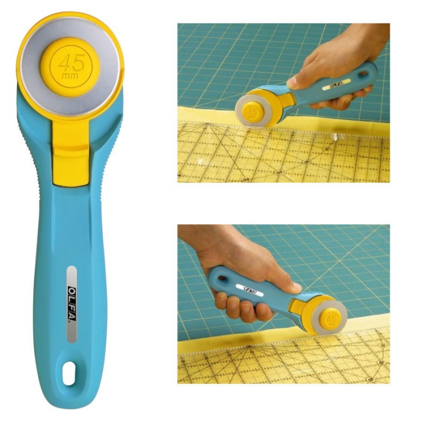 Olfa RTY-2C Splash Rotary Cutter 45mm