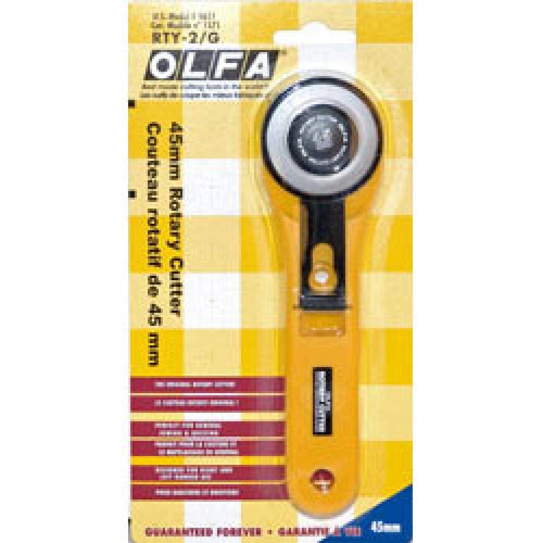 Olfa RTY-2G Rotary Cutter 45mm