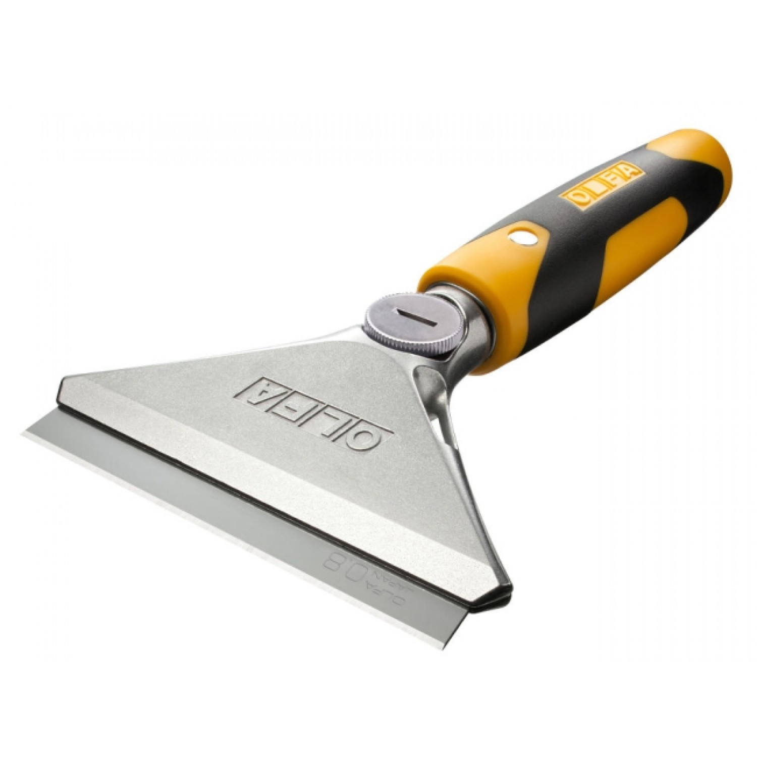 "OLFA XSR-200 Small 8"" Arm Extra Heavy-Duty Scraper, side view"